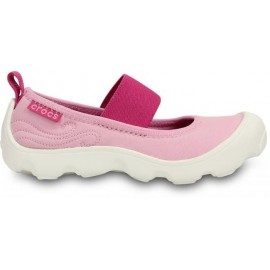 CHAUSSURES CROCS FILLETTE KIDS DUET BUSY DAY MARY JANE ROSE