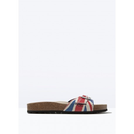 CHAUSSURES SANDALES PEPE JEANS OBAN UNION JACK
