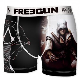 BOXER UNDERWEAR HOMME FREEGUN COLLECTOR ASSASSIN'S CREED TEM MULTICOLORE