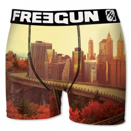BOXER UNDERWEAR HOMME FREEGUN CITY MULTICOLORE