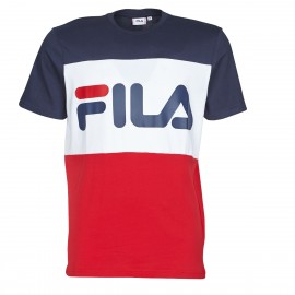 TEE-SHIRT MANCHES COURTES HOMME FILA DAY MARINE/BLANC/ROUGE