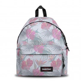 SAC A DOS EASTPAK PADDED PAK'R PRINT MESH WHITE HIBISCUS ÉDITION LIMITÉE