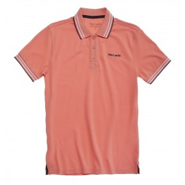 POLO MC HOMME TEDDY SMITH PASIAN ORANGE CORAIL