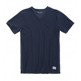 TEE-SHIRT MC HOMME TEDDY SMITH AGO TOTAL NAVY