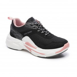 CHAUSSURES SNEAKER FILLE PEPE JEANS SINYU GIRL ACTION NOIR