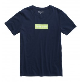 TEE-SHIRT MC HOMME TEDDY SMITH TESUPER BLEU MARINE