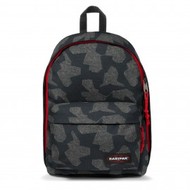 SAC A DOS EASTPAK OUT OF OFFICE PRINT PEAK RED ÉDITION LIMITÉE