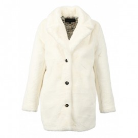 MANTEAU EN FOURRURE SYNTHETIQUE FEMME OAKWOOD USER TEDDY IVOIRE