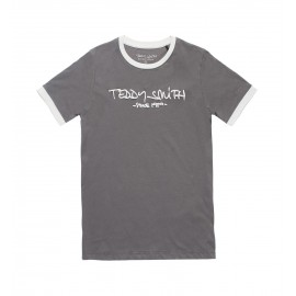 TEE-SHIRT MC ENFANT GARCON TEDDY SMITH TICLASS 3 KAKI