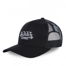 CASQUETTE ADULTE VON DUTCH BASEBALL LOFB CALIFORNIA FILET NOIR