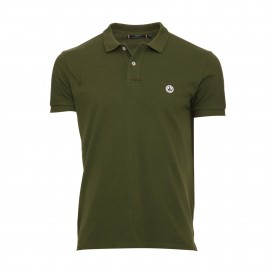 POLO MANCHES COURTES HOMME JOTT CHERBOURG VERT ARMY