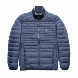 BLOUSON MANCHES LONGUES HOMME TEDDY SMITH TOMI BLEU MARINE CHINE